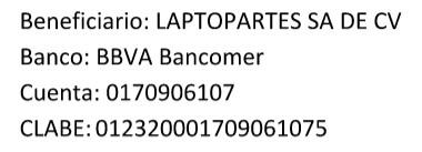 Cuenta Laptopartes