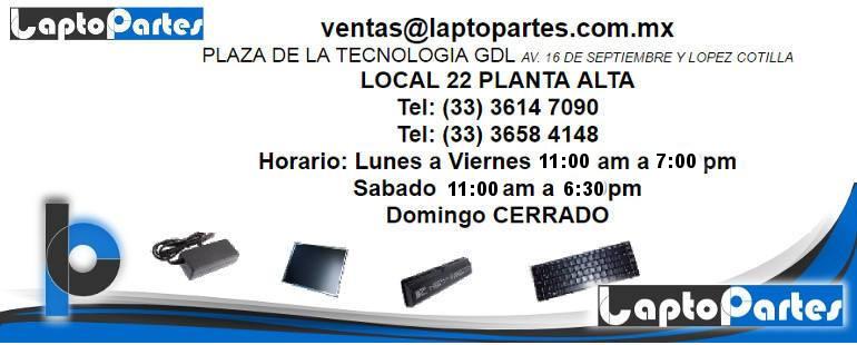 LaptoPartes Guadalajara